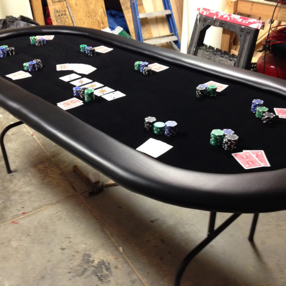 black poker table 1
