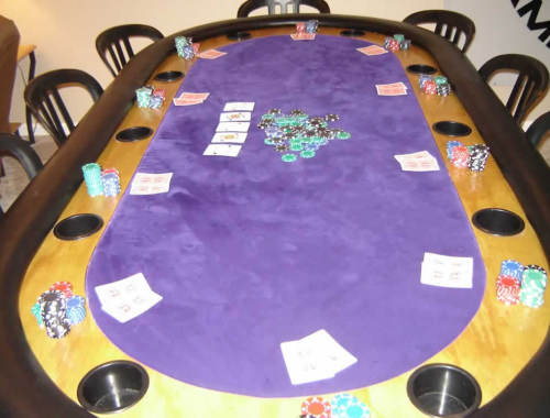 purple poker table 1